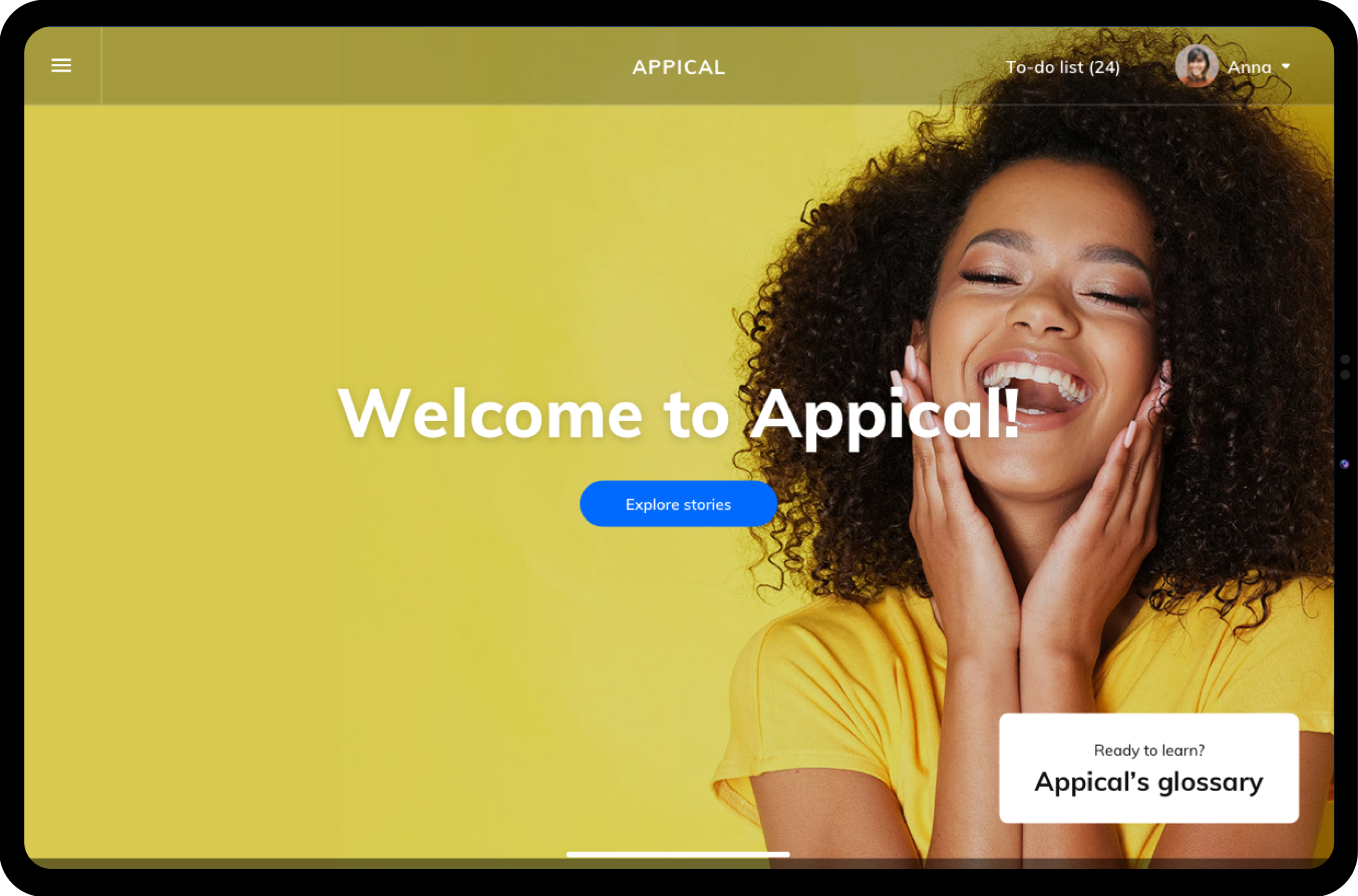 Welcome to Appical dashboard